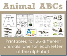 Animal ABCs Printables