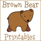 Brown Bear Printables 2
