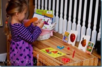 Home Preschool Letter A -8080