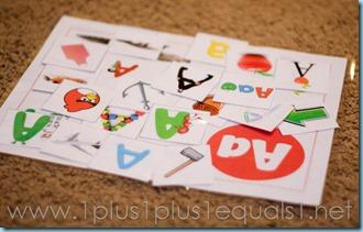 Home Preschool Letter A -8109