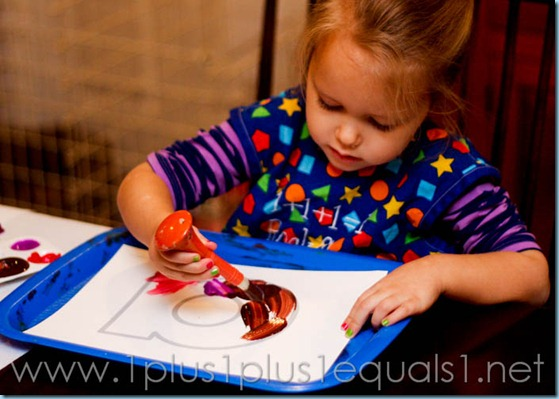 Home Preschool Letter A -8118