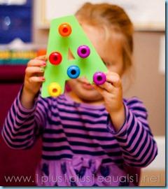Home Preschool Letter A -8127