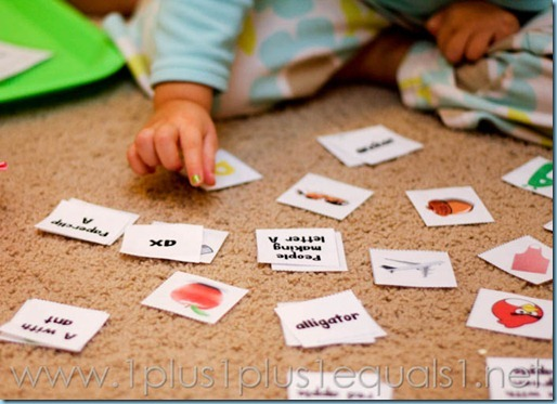Home Preschool Letter A -8188