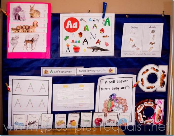 Home Preschool Letter A -8201