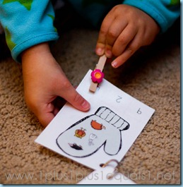 Home Preschool Winter Theme -6996