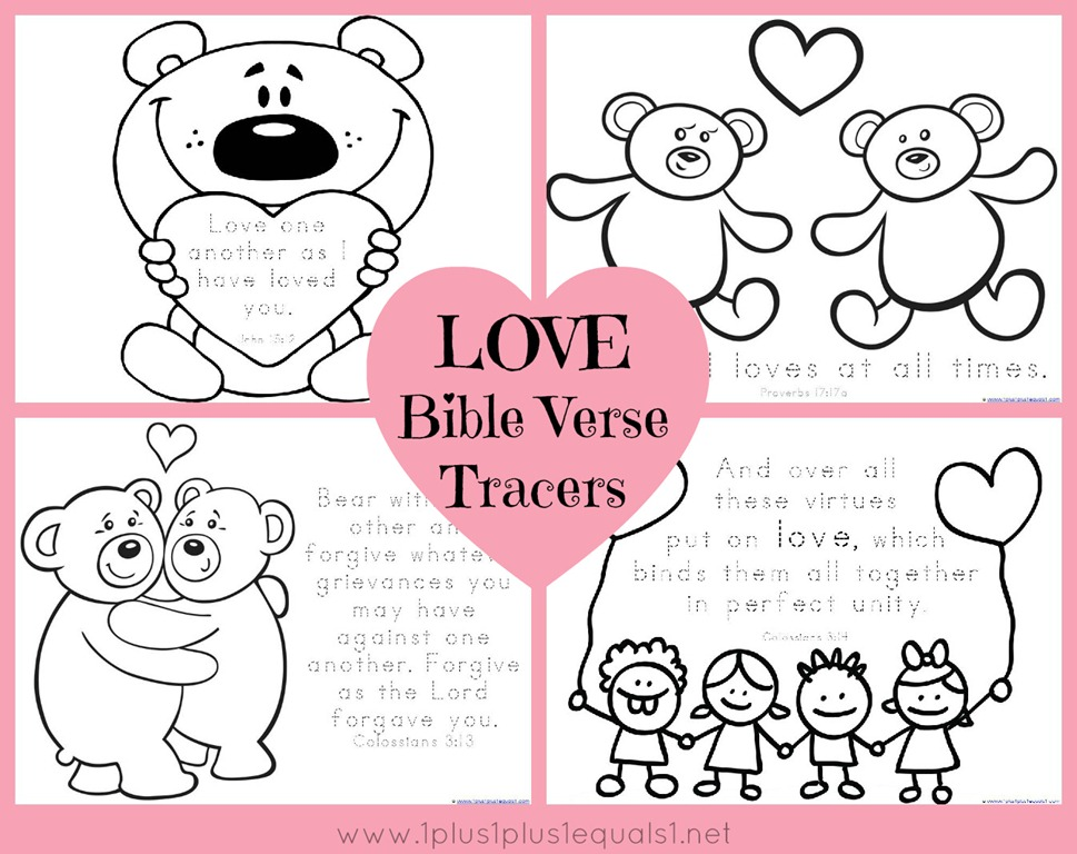 love bible verses coloring pages - photo#12