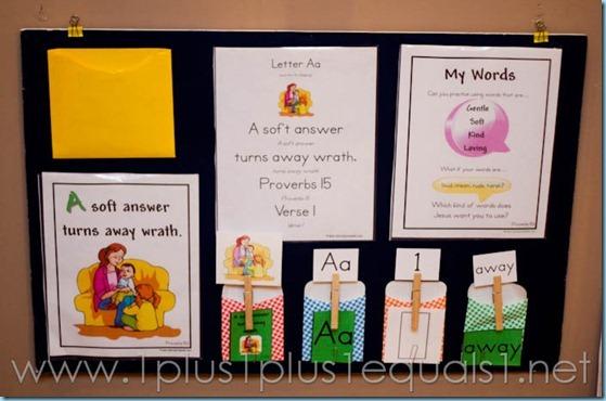 Preschool Letter A-8012