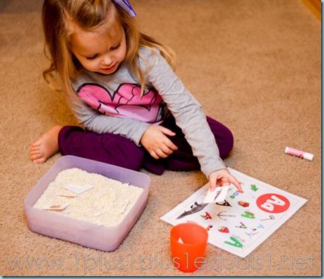 Preschool Letter A-8033