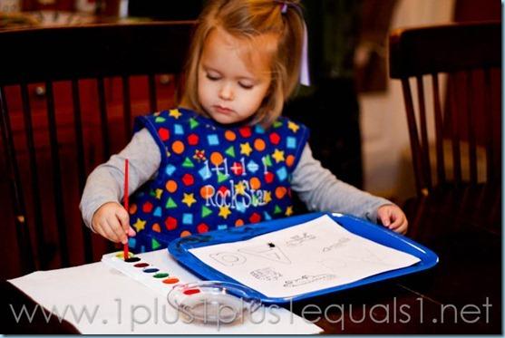 Preschool Letter A-8050