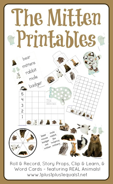 The Mitten Animal Printables | New Calendar Template Site