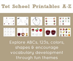 Tot School Printables A to Z