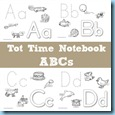 Tot Time Notebook ABCs
