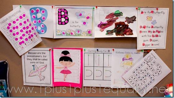 Home Preschool Letter B -8523