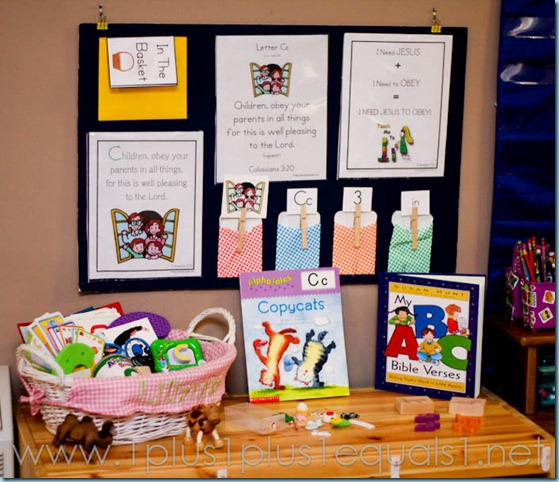Home Preschool Letter C -8656