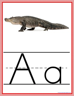 Animal ABC Wall Posters