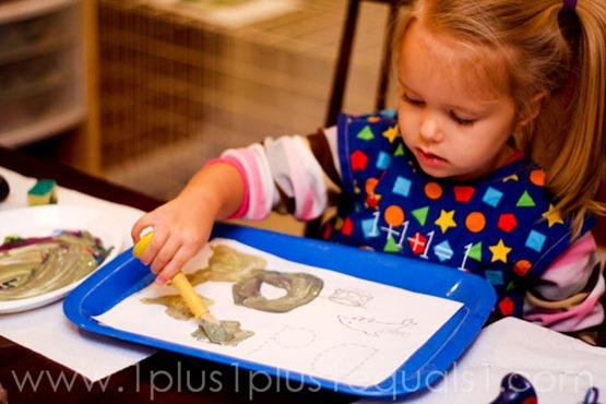Home Preschool Letter Dd -1029