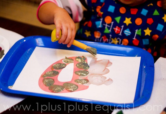 Home Preschool Letter Dd -1032