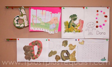 Home Preschool Letter Dd -1158