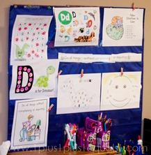 Home Preschool Letter Dd -1161