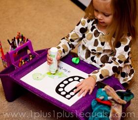 Home Preschool Letter Dd -9716