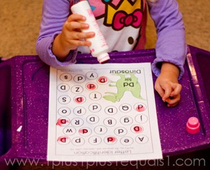 Home Preschool Letter Dd -9756