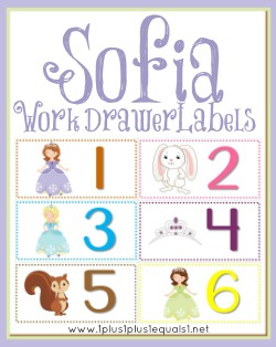 Sofia Work Drawer Labels