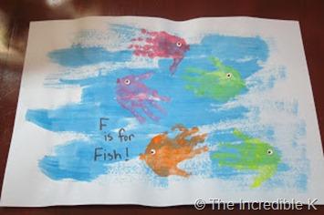 The Incredible K  Fish Art