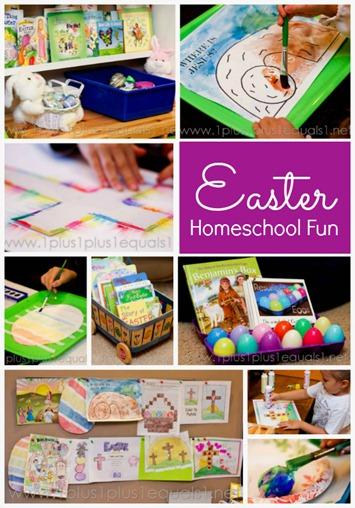 Easter Fun in Homeschool