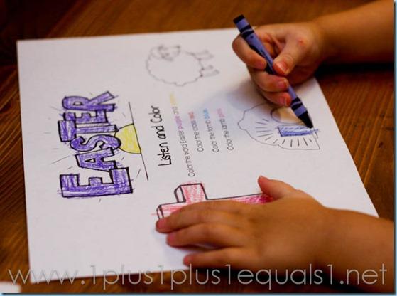 Easter Homeschool Activities -2013
