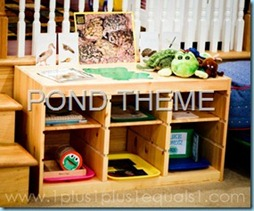 Pond Theme in Homeschool