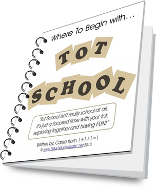 Where to Begin with Tot School eBook ~ Free to Newsletter Subscribers!