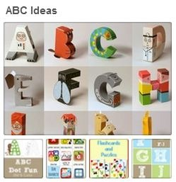 ABC Pinterest Board