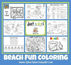 Just Color Beach Theme