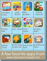 Favorite Homeschool Apps