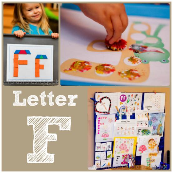 Home Preschool Letter F