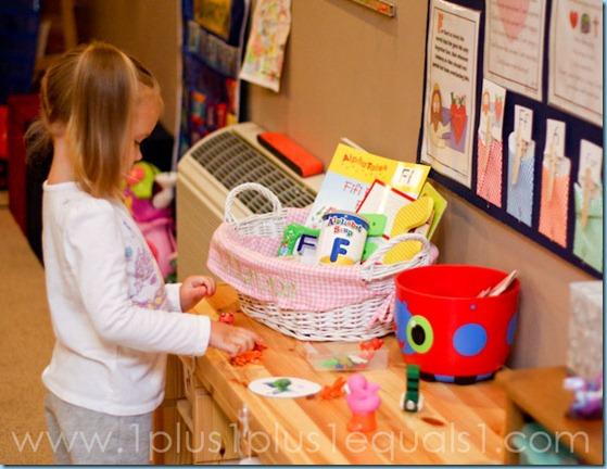 Home Preschool Letter Ff -1477