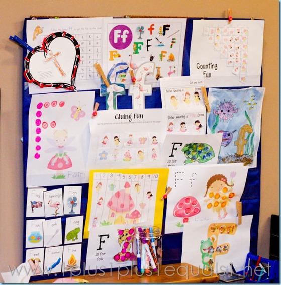 Home Preschool Letter Ff -2085