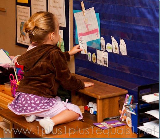 Home Preschool Letter Gg -2130