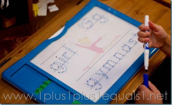 Home Preschool Letter Gg -2736