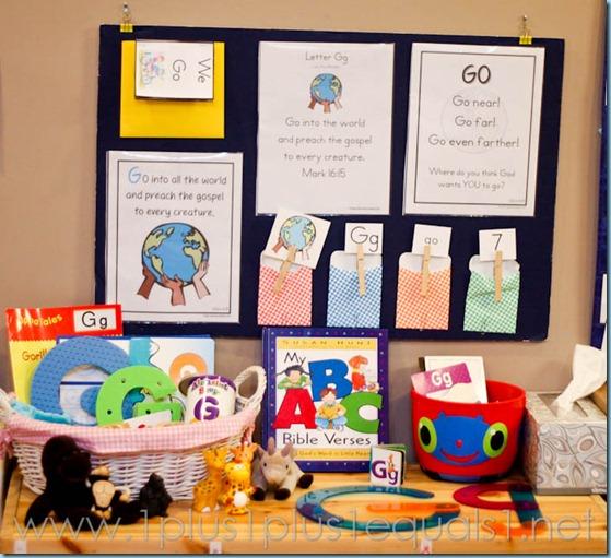 Home Preschool Letter Gg -2990