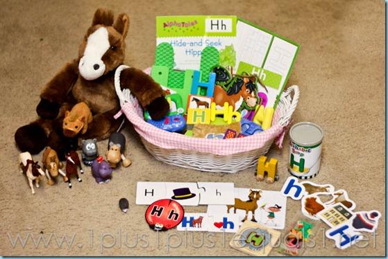 Home Preschool Letter Hh -3000