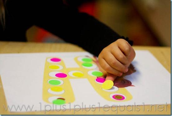 Home Preschool Letter Hh -3177