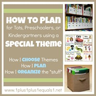 How to Plan Using Themes