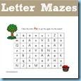 Letter-Mazes