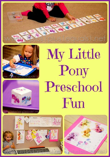 My Little Pony Preschool Fun