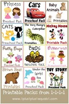 Printables Packs from 1plus1plus1equals1