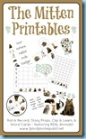 The Mitten Printables