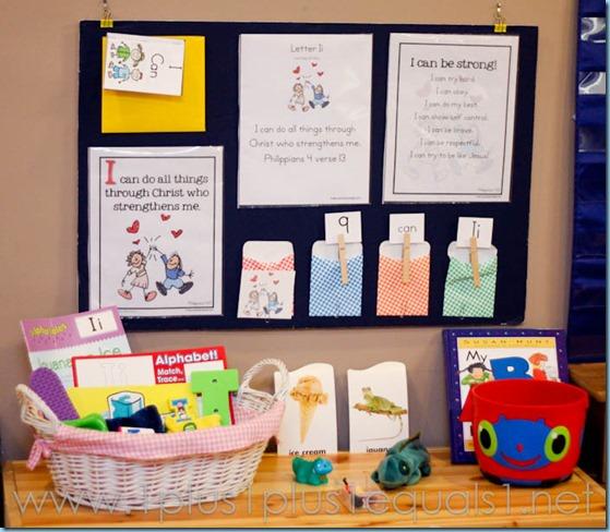 Home Preschool Letter Ii -3523