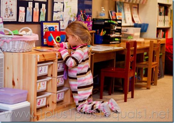 Home Preschool Letter Ii -3588