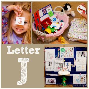 Home Preschool Letter J